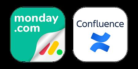 monday.com for Confluence embed app