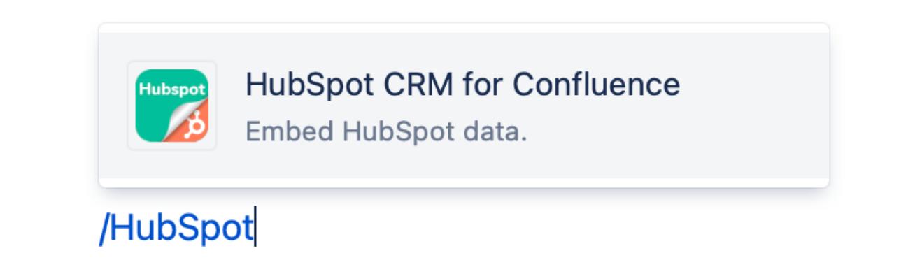 Embed HubSpot CRM data