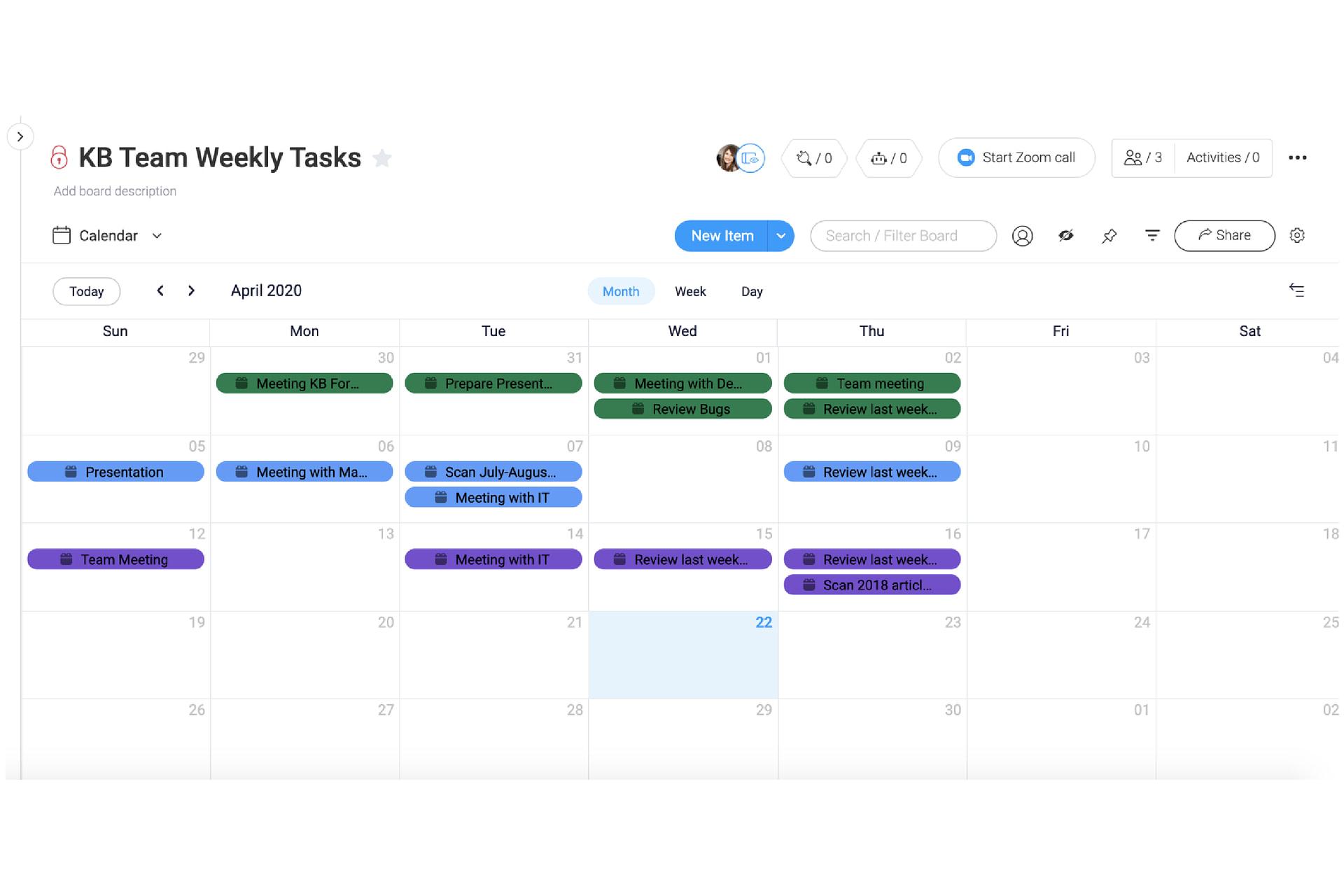 monday embed jira calendar