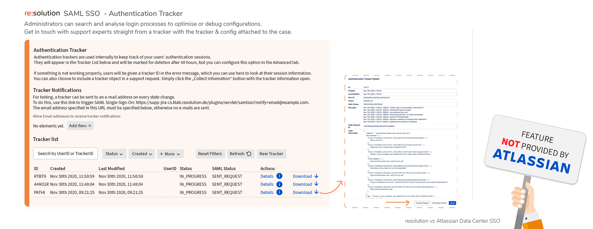 Authentication Tracker