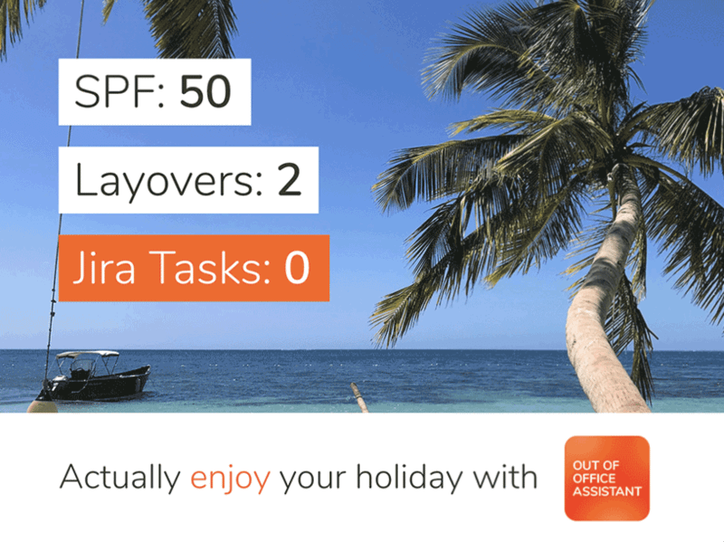 out of office jira vacation