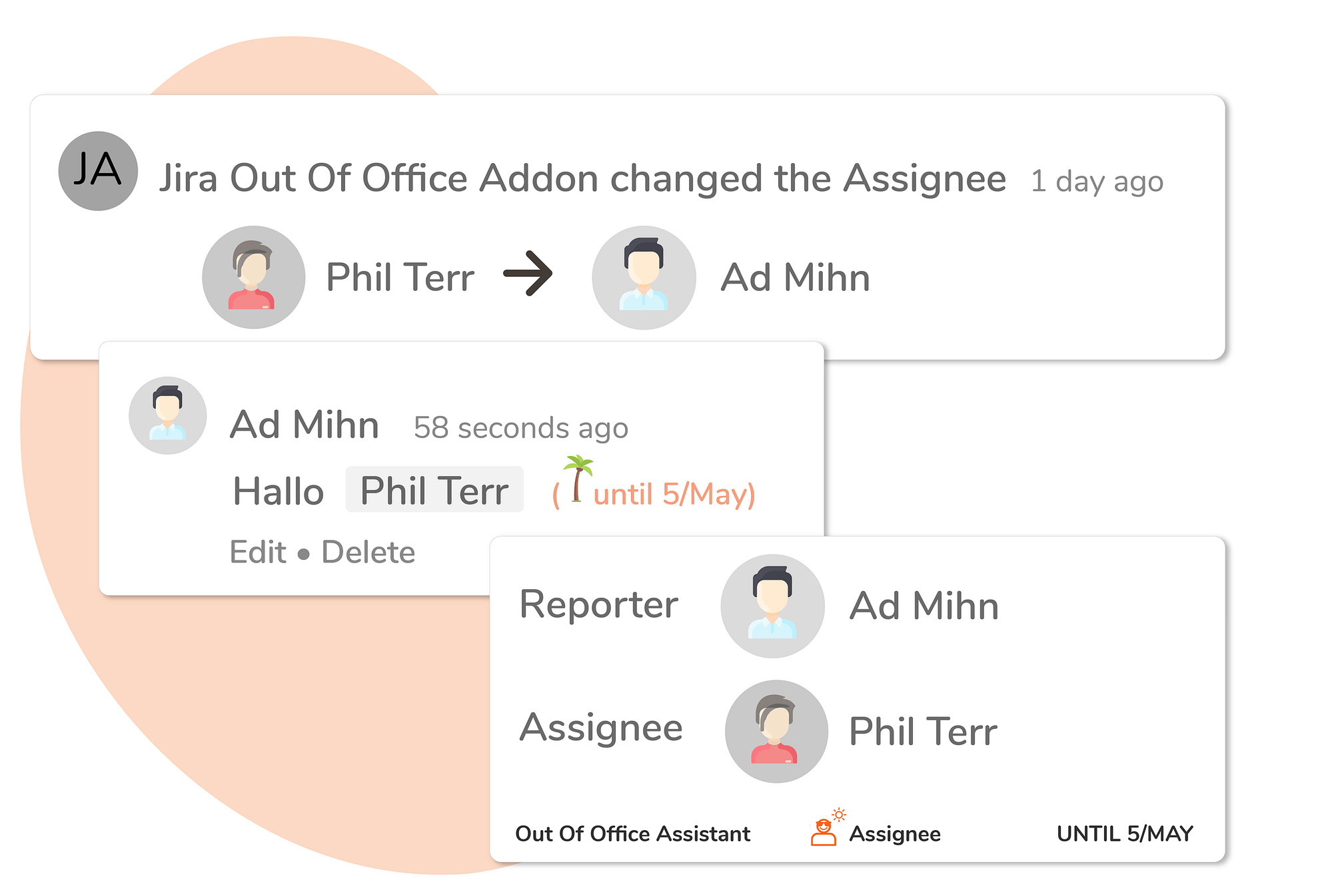 In Issue & Dashboard View