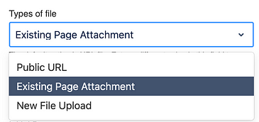 Three methods for inserting pdf files in Confluence