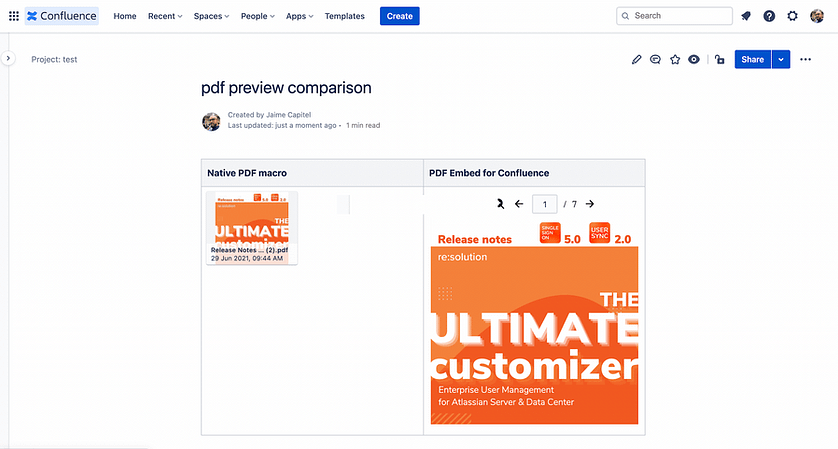 How to insert pdf files in Confluence