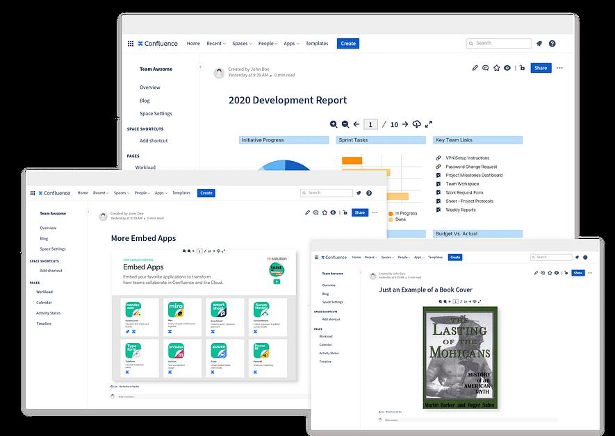 PDF Header Embed App