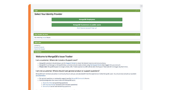 Branded Example of an IdP Selection Page