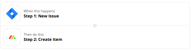 monday.com jira integration with a zap